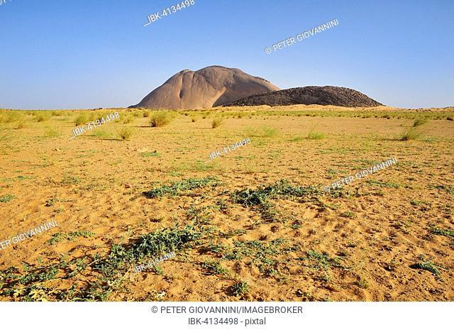 Ben Amira, the second largest monolith in the world, Adrar region, Mauritania