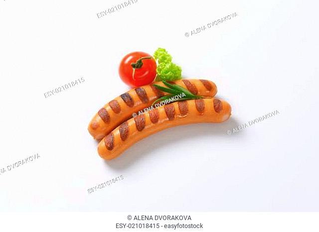 Grilled Vienna sausages