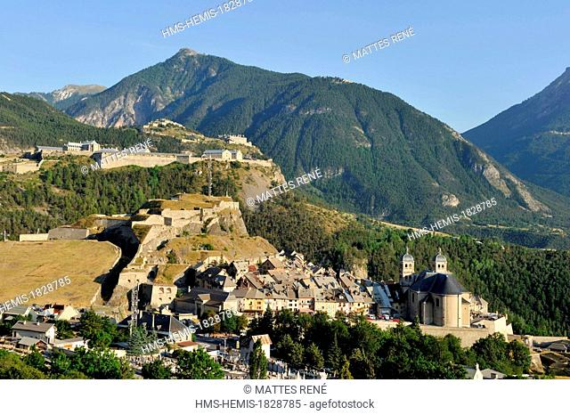 France, Hautes Alpes, Briancon, Notre Dame Saint Nicolas Collegial and Vauban listed as World Heritage by UNESCO