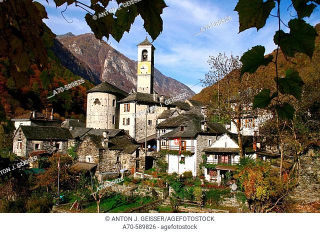 Lavertezzo. Locarno. Ticino. Switzerland