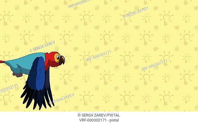 macaw, zoo, abc