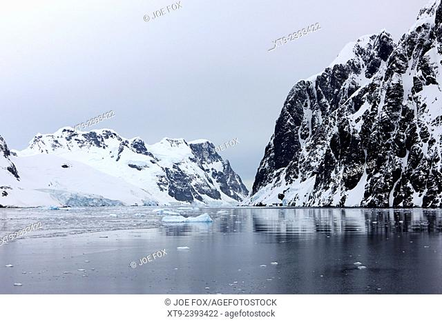 the lemaire channel Antarctica