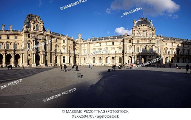 The Louvre Palace, Paris, France