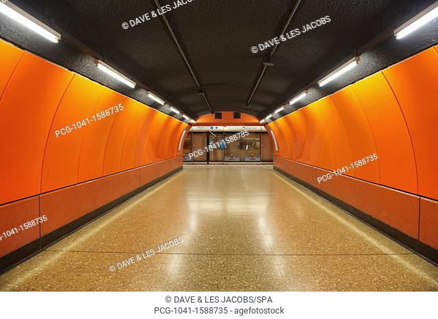Underground Metro System