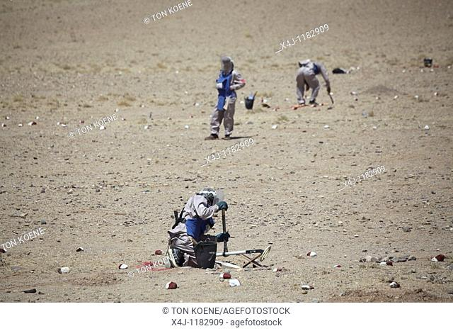 Halo trust clears minefields in Afghanistan