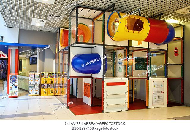 Playground, Mall, Centro Comercial Mendibil, Irun, Gipuzkoa, Basque Country, Spain