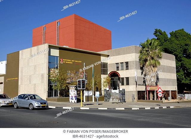 National Art Gallery of Namibia, National Gallery, Windhoek, Khomas Region, Namibia
