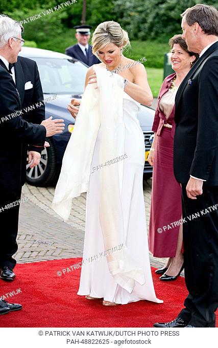 Queen Maxima of The Netherlands attends the gala concert of the 'Koninklijke Sophia-s Vereeniging' from Loon op Zand in Kaatsheuvel, The Netherlands