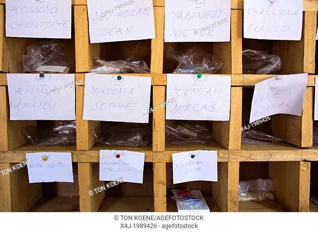 drugs for patients at the MSF hospital in CAR