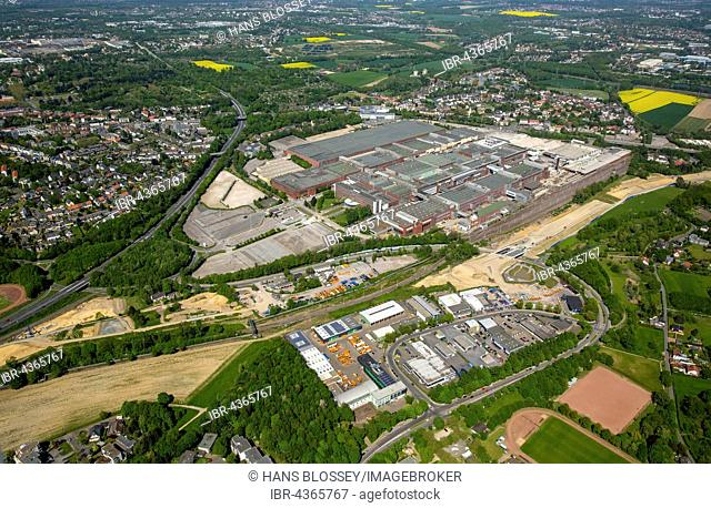 Aerial view, OPEL plant 1, demolition of the former car factory, Bochum, Ruhr district, North Rhine-Westphalia, Germany