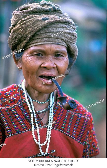 Karen woman, northwest Thailand