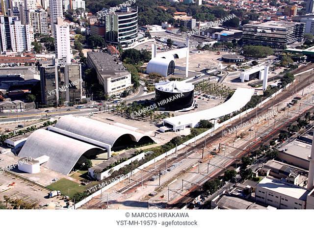Latin America Memorial, Barra Funda, Água Branca, São Paulo, Brazil