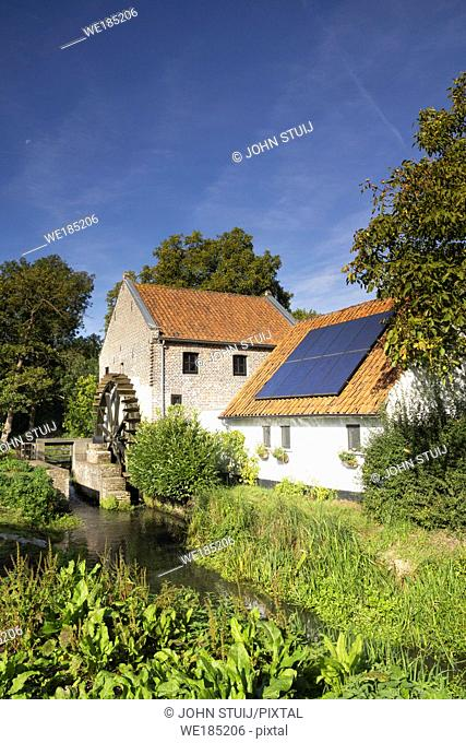 The Schouwsmolen is a watermill on the Itterbeek river in the Dutch village Ittervoort