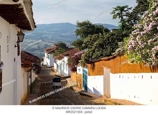 Barichara; Santander; Colombia