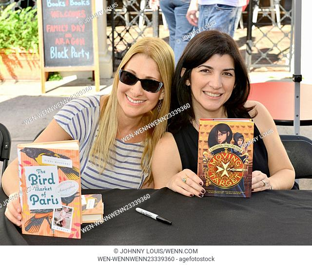 The Family Day Block Party presented by Books and Books on Aragon Avenue in Coral Gables Featuring: Nikki Moustaki, Christina Diaz Gonzalez Where: Coral Gables