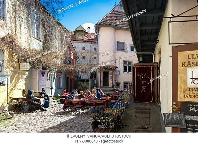 Master's Courtyard, Tallin, Estonia