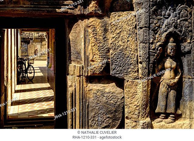 Vat Nokor, Angkorian sanctuary dated 11th century, Kompong Cham (Kampong Cham), Cambodia, Indochina, Southeast Asia, Asia