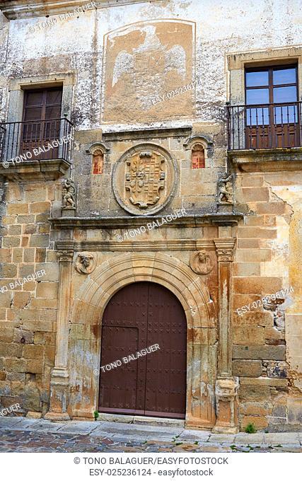 Hernando Ovando house in Caceres Spain at Extremadura