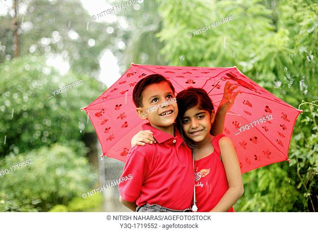 Innocence in the rain