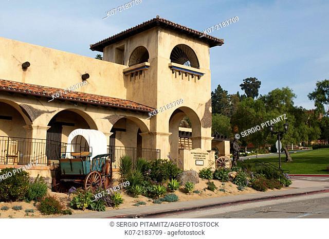 Mormon Battalion Historic Site, Old Town, San Diego, California, USA