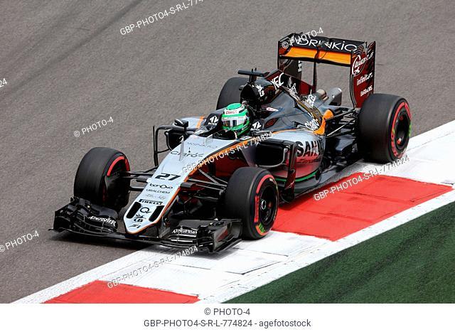 30.04.2016 - Free Practice 3, Nico Hulkenberg (GER) Sahara Force India F1 VJM09