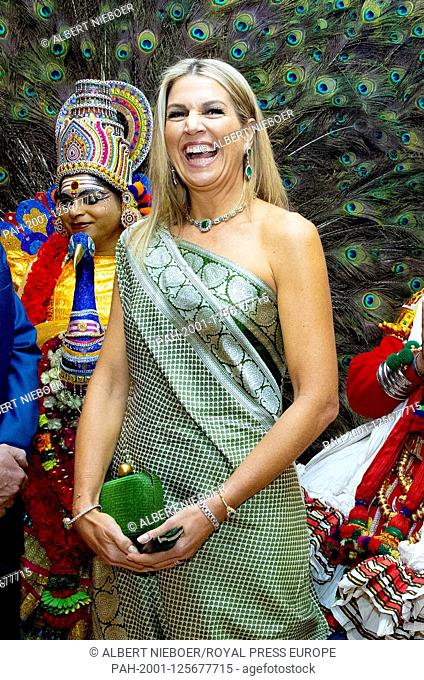 State Visit dutch King Willem-Alexander and Queen Maxima to India at the fourth day of their 5 day state visit, they had a dinner with Chief Minister of Kerala...