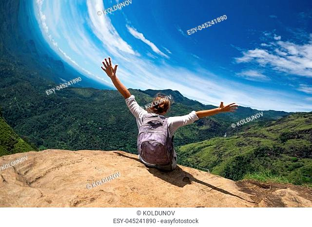 Sri lanka tourist watching Stock Photos and Images | age fotostock