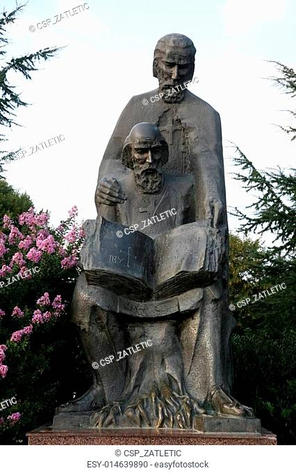 Monument of saint Cyril and Method