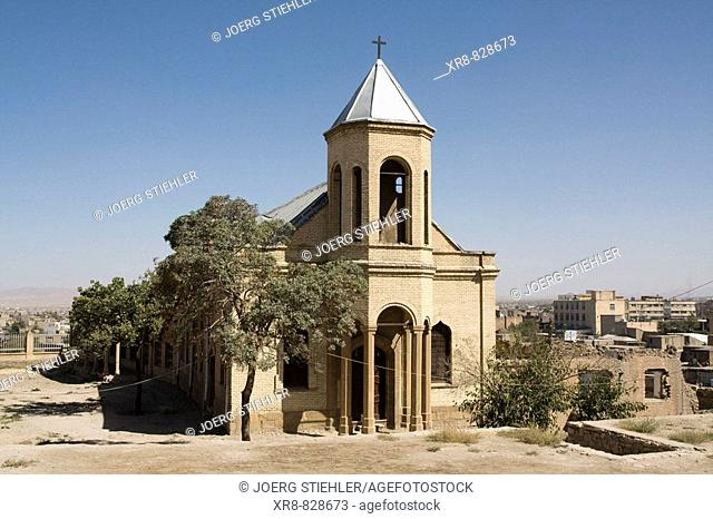 Iran, Hamadan, St Stephanos Church