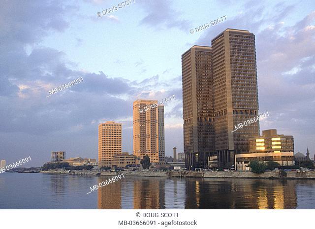 Egypt, Cairo, City view