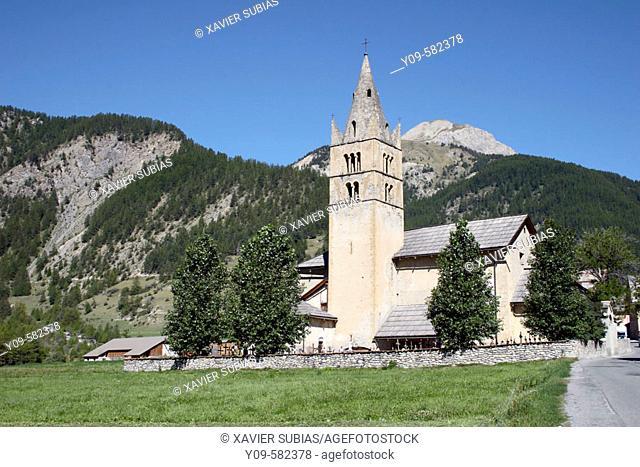 Arvieux. Queyras. Hautes-Alpes. France
