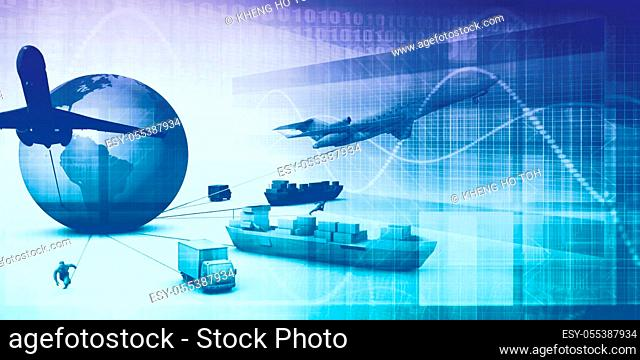 Supply Chain Analytics Software Company as a Concept
