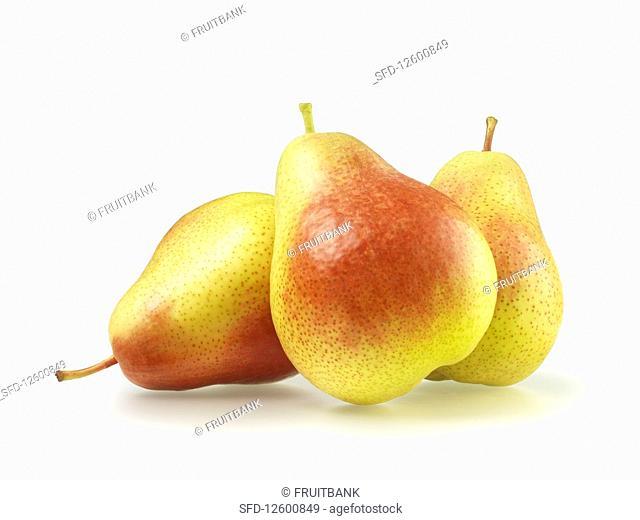 Three Williams pears