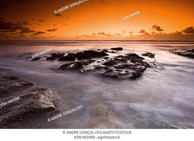 Ribeira D'Ilhas Beach, Ericeira, Portugal