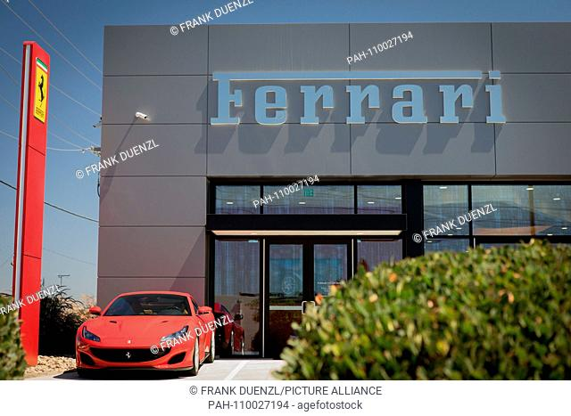 Ferrari Dealership Stock Photos And Images Agefotostock