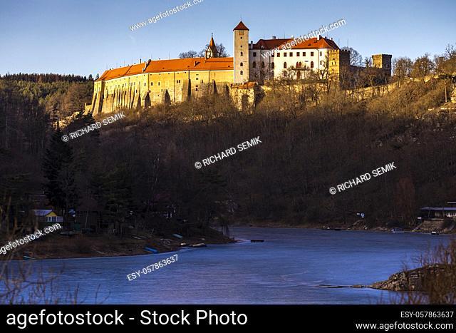 Bitov castle in Czech Republic