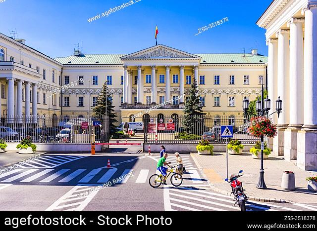 Palace of the Ministry of Revenues and Treasury. Also know as the Commission Palace. Currently it is not the home to the named ministry