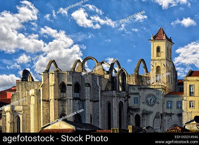 Ansicht auf das Convento do Carmo