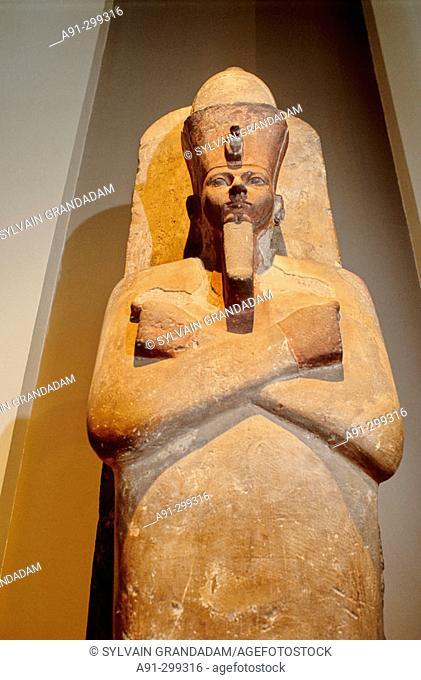 Egyptian Deparment. British Museum. London. England
