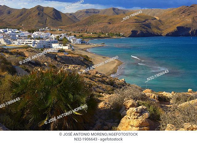 Las Negras, Cabo de Gata, Biosphere Reserve, Cabo de Gata-Nijar Natural Park, Almeria, Andalusia, Spain