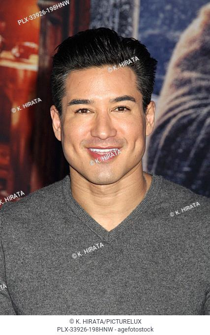 """Mario Lopez 12/09/2019 """"""""Jumanji: The Next Level"""""""" Premiere held at the TCL Chinese Theatre in Hollywood, CA. Photo by K. Hirata / HNW / PictureLux"""