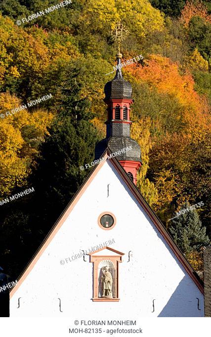 Bad Münstereifel, Jesuitenkirche, Giebel und Dachreiter