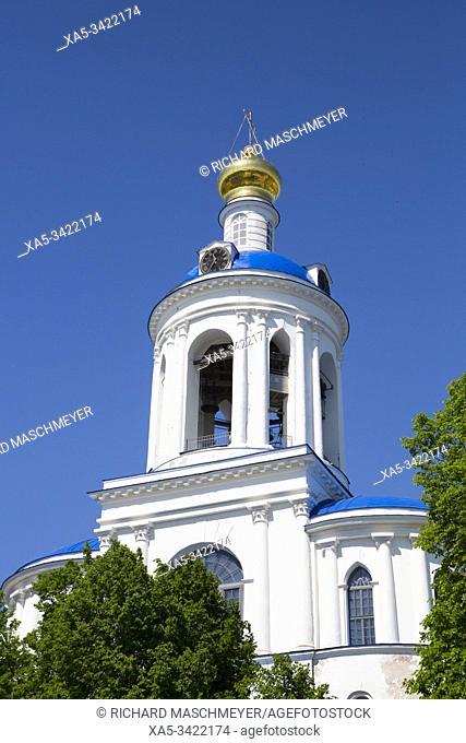 Bell Tower, Svyato-Bogolyubsky Monastery, North of Vladimir, Russia