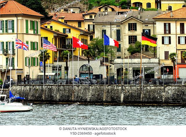 Menaggio, province Como, Lombardy, northern Italy, western shore of Lake Como