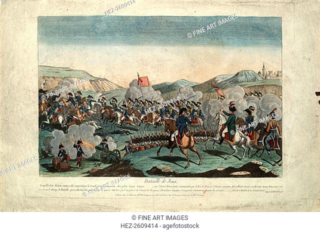 The Battle of Jena, ca 1806. Artist: Anonymous
