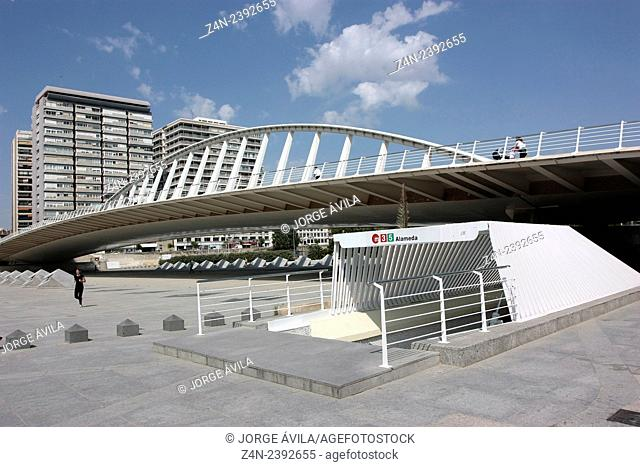 Metro station, Valencia, Spain