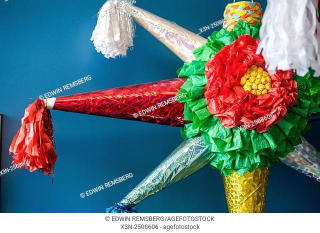 Colorful Mexican Piñata