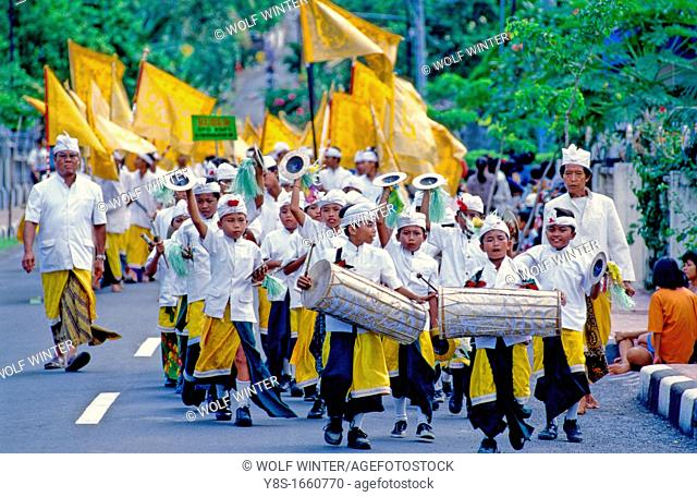 Parade at Karangasem