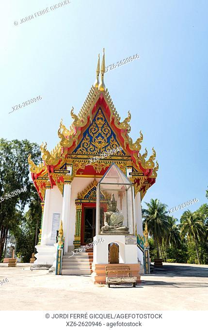 Buddhist temple in Koh Kood island, Ko Kut district in Trat Province, Thailand, Asia