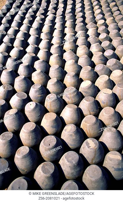 Ceramic pots, Bhaktapur, Nepal